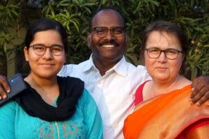 Rajat, Annegret und Asha