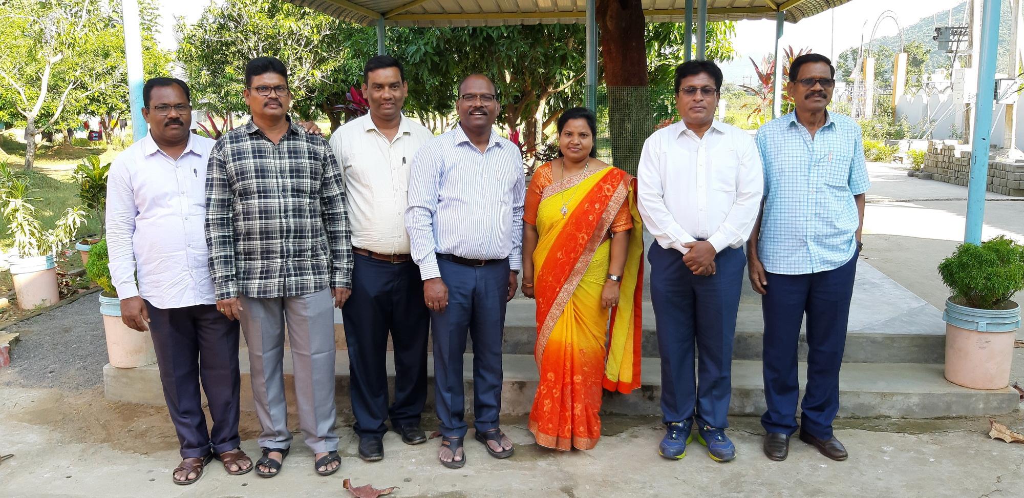 Der Uppahar Vorstand in Indien